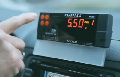 The SEAT Taxi Fare.