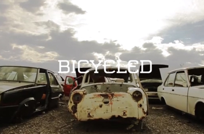 Bicycled » A bike made out of cars
