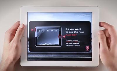 Screenshot Ad Audi