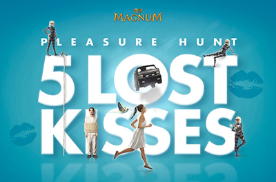 Magnum Pleasure Hunt - 5 Lost Kisses