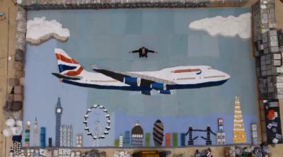 A Jumbo Job at British Airways