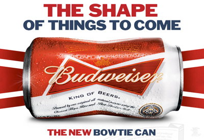 The New Bowtie Can - Budeweiser