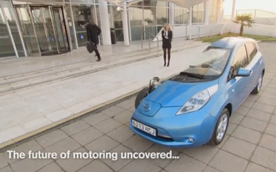 The Nissan LEAF - The future of motoring uncovered