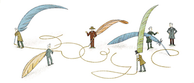 Google デンマーク出身の哲学者セーレン・キェルケゴール生誕200周年