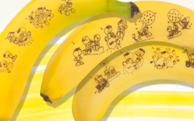 Fyffes Banana Comic Case