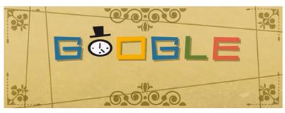 Google 映画タイトルを多数手がけたソウル・バス生誕93周年で、映画のオープニング風アニメーションロゴに!