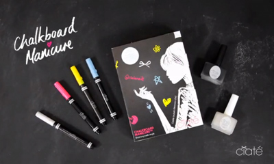 The Chalkboard Manicure Inspiration!