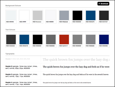 Stylify Me - Online Style Guide Generator