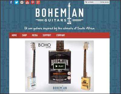 Bohemian Guitars