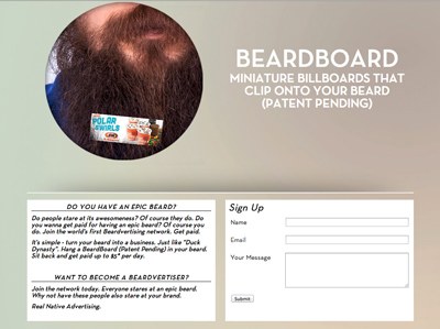 Beardvertising - Real Native Advertising