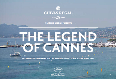 Chivas Regal 25 Presents: The Legend of Cannes.