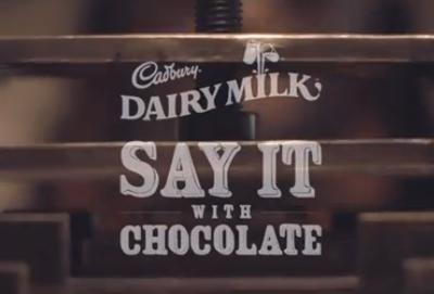 Cadbury - Say It With Chocolate