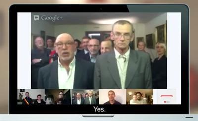 Google+ Hangouts - Same sex marriage
