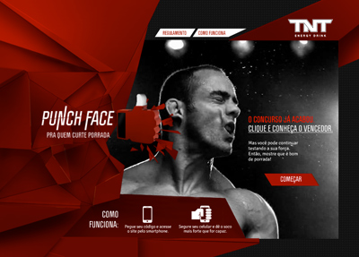 TNT Energy Drink - Punch Face