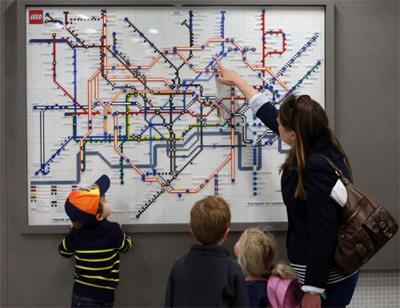Lego Tube maps