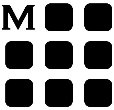 THE MOLESKINE MONOGRAM