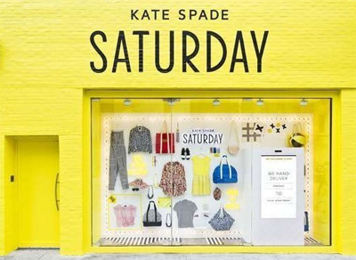 Kate Spade saturday window shop