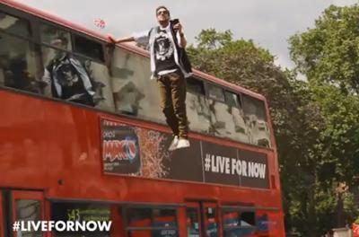 Bus Levitation #LiveForNow