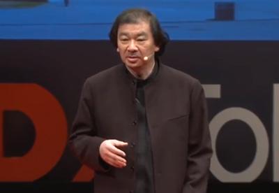 「社会の役に立たない建築家: 坂 茂 at TEDxTokyo」