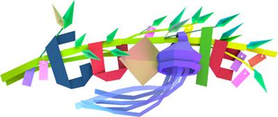 Google 7月7日は七夕。Doodleが七夕飾りに!