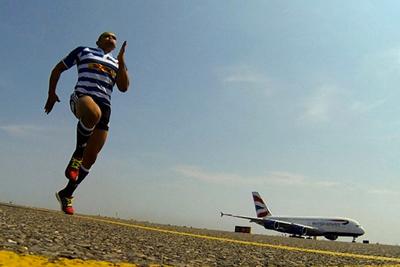 British Airways - Man vs Plane