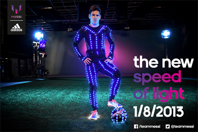 Leo Messi - The New Speed of Light - adidas Football