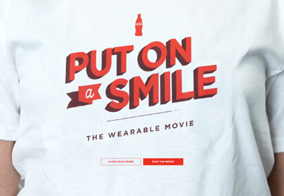 Put On A Smile – The Wearable Movie