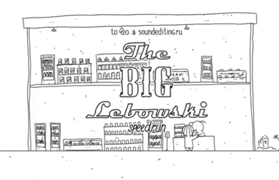 Speedrun: The Big Lebowski in 60 seconds