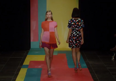 Marimekko Spring/Summer 2014 show at Copenhagen Fashion Week