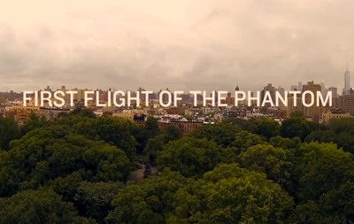 FIRST FLIGHT OF THE PHANTOM