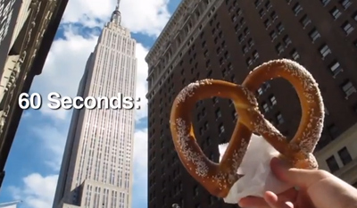 60 Seconds: New York City Street Food