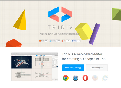 Tridiv | CSS 3D Editor