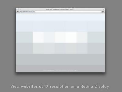 Blind - 1X Browser