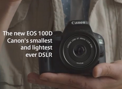 our smallest and lightest DSLR ever