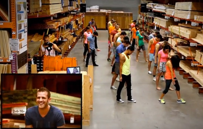 Spencer's Home Depot Marriage Proposal
