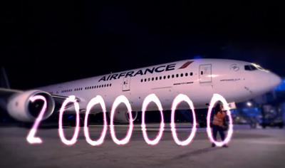 Deux millions de Mercis ! Two million Thank yous!