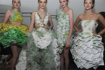 Mouth-Watering Fast-Food Dresses Turn Heads In Subway Runway Collection
