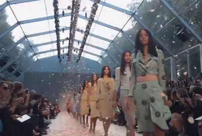 Burberry Prorsum Womenswear S/S14 - shot entirely with iPhone 5s