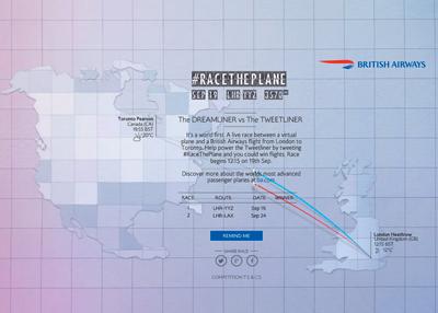 British Airways - Race The Plane