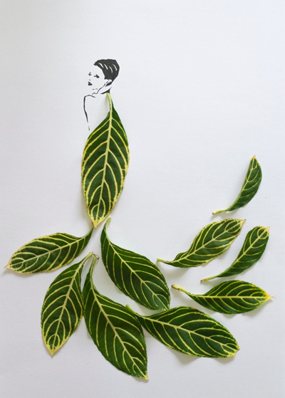 Fashion in Leaves