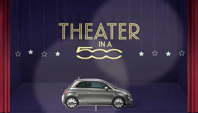 THEATER IN A FIAT 500