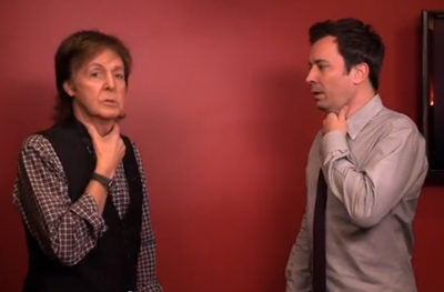 Jimmy Fallon and Paul McCartney Switch Accents