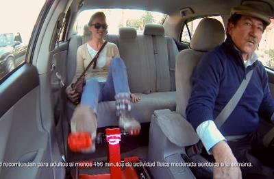 Taxi sorprende a viñamarinos