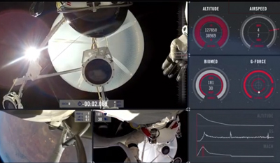 Red Bull Stratos FULL POV - Multi-Angle + Mission Data