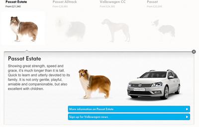 Dogs : Volkswagen UK