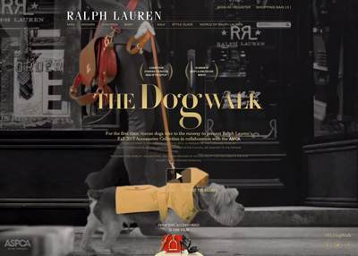 Ralph Lauren Presents The Dog Walk