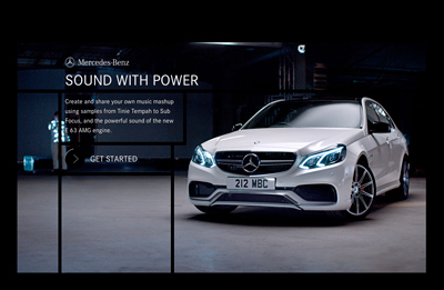 SOUND WITH POWER - E 63 AMG - Mercedes-Benz UK