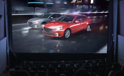 Game Changer - Mazda 3 Ambient Advert