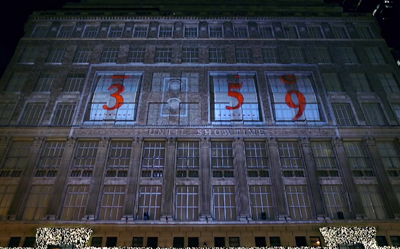 2013 Saks Fifth Avenue Holiday 3D Light Show