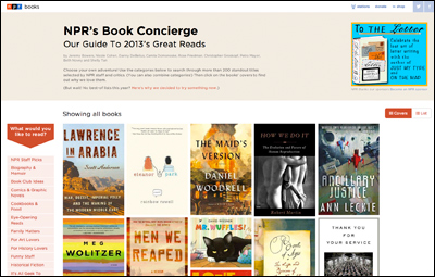 Best Books of 2013 : NPR